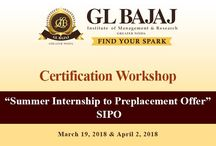 """Certification Workshop on """"Summer Internship to Preplacement Offer"""" has been organized on March 19, 2018"""