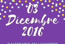 Calendario dell'Avvento 2016