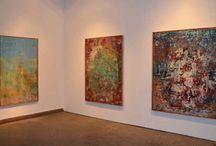 Exhibition Views / Ausstellung auf der Praterinsel 2014