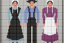 Amish Cross Stitch / by Luci Patterson