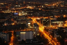 Wrocław / A great view from the highest build of Wrocław, Sky Tower.