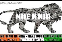 MAKE IN INDIA / MAKE IN INDIA –MAKE YOUR FORTUNE IN INDIA India Market Entry  Strategic Business Consulting For Foreign Firms Business Incorporation to Strategic Planning,Team Building,Business Launching To Establishment Phase Strategic supports  All Under One Roof http://theconsultants.net.in/entry-to-indian-market/ Billion Reasons to Invest In Multi Trillion Dollar Future Global Economic Hub