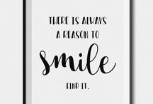 Reasons to Smile / #Smile is precious. Let's rejoice the little things in life that bring a smile on our faces. Feeling low? This board is going to be your medicine then!