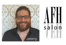 Stylist - Jeremy Abraham / Jeremy is a senior stylist and industry educator. When not behind the chair he freelances on the Italian Style Team with Framesi North America. He has spent the past 27 years perfecting his craft. Vidal Sassoon trained, he has been backstage for LA.'s fashion week and Dolce and Gabbana's show.
