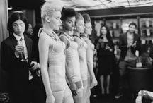 Champagne Fashion - LFW, September 2014 / Champagne Fashion - London Fashion Week event, showcasing Jolita Jewellery statement pieces