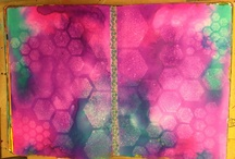Art Journaling Love: Backgrounds / by Crafty Lou