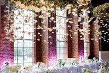 Свадьба, декор потолка