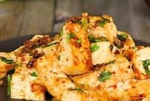 Tofu Recipes / The word 'tofu' comes from Chinese word 'dòufu' which means 'from bean' and 'curdled'. Indian, Japanese and Chinese cuisines use tofu in many dishes. Merirasoi find tofu a very remarkable ingredient. In this category we have shared different lavishing Tofu recipes. Eat tofu stay healthy!