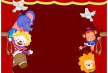 Thema circus in groep 1 en 2