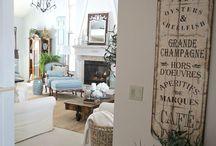 Ranskalainen ihana olohuone