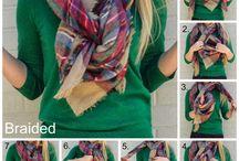 Tipos de amarrar lenço