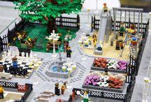 Lego city display