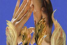 Collagen / Eigene Werke: Fremde Welten, 2002-2012
