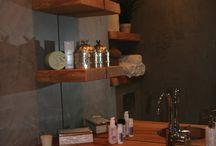 Bathroom, Badkamer / My new modern, industrial, design bathroom!