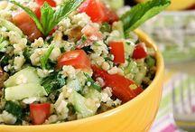 salade orge grecque