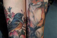 Tattoos / by Denika Robbins