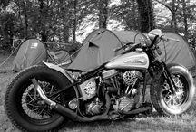 Chopper/Bobber Road trip / Motorcycle camping / by Michael Vanhoose