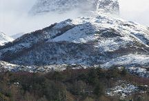 Assynt Mountains / Assynt is renowned for its beautiful mountains - see the stunning peaks this little corner of the Highlands has to offer