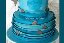 Birthday cake_shark