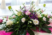 Flower arrangements by Eufloria