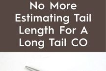 no more estimating tail for knitting