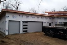 Flush Panel Doors / Looking for a new garage door? Check out what flush panel doors are all about here.