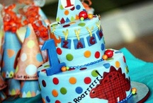 *Childrens Parties* / planning parties for children is so much fun! These are some wonderful ideas I've found for Dinosaur parties, Rocket ship parties, kid's class parties, girly parties, bee day birthday parties and so many more... hope you find something you like here. / by Jessica Dison