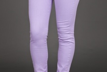 Colored Skinnies / Colors jeans are hot this year and we got em! / by For Elyse