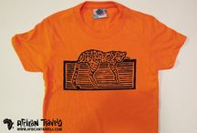 Clothing / T-Shirts for kids! 100% cotton with animal prints. #cheetah #boy #girl #outfit #clothing #africantravels