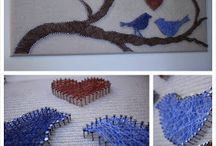 String Art - DIY/inspiration