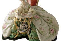 figurines porcelaine
