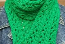 Knit Scarves etc