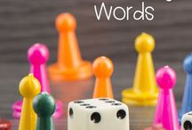 Games with vocabulary words