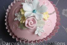 Cake & cupcake..