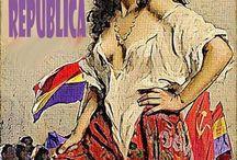 Plakate Spanischer Bürgerkrieg