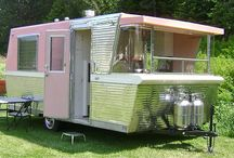 Collection~Vintage Glam Campers & Caravans / One Day~ / by Amanda Hutton-Hakkarainen
