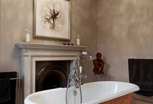 Georgian Townhouse by Latham Interiors / Our client lives in a stunning Georgian Townhouse in one of Bath's finest crescents. Their style is minimal and contemporary but they were concerned about how to make this approach work in the context of the retained Georgian architecture, space and features. We worked with them to marry the two all the way to the finishing touches of art and accessories.