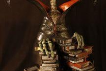 Kassiopeya - Figuren / Alle skurrilen Figuren und Charaktere, die sich in meiner Werkstatt tummeln