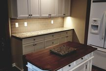 Milwaukee Area Kitchen Remodel / The latest kitchen remodeling project from Advantage Remodel. Taking this kitchen down to the studs, we were able to incorporate the clients kitchen island & table for a sleek, modern look.