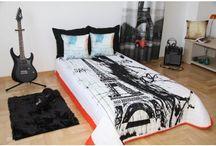Prehozy na posteľ - geografické motívy / Štýlové prehozy na posteľ, ktoré spravia z vašej spálne luxusné miesto