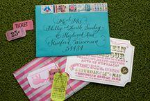 Invitation Ideas for Vivian Chen / Invitation Ideas for Vivian Chen | HK Wedding: Vintage Carnival Theme | SH Wedding: Art Deco Jazz Theme
