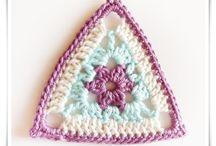 Crochet - Triangle Motifs !
