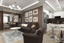 Элитный дизайн квартир / Дизайн интерьера для квартиры