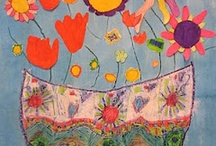 Childrens art / Art made by children in the age of 4 - 12 years