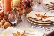Thanksgiving Table Settings / by Doreen Cassotta