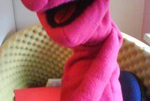 Textil bábok