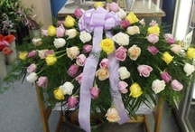 Funeral Arrangements / This take the longest time to make but we take great care that they are perfect.