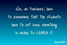 Teaching / Teaching, education, and making an impact on student learning