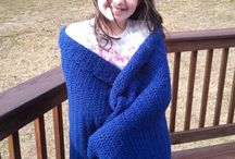 Yarn, yarn, everywhere!! / by Pam Moore-Santaniello