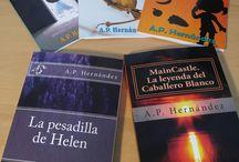 Mis libros / Soy autor de tres libros infantiles y tres novelas para jóvenes y adultos. Visita mi web http://aphernandez.weebly.com